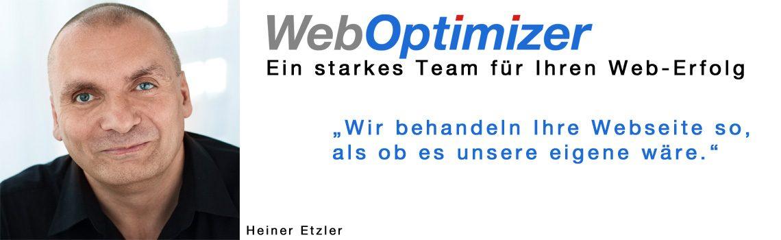 WebOptimizer: Ein Experten Team für Ihren Web Erfolg