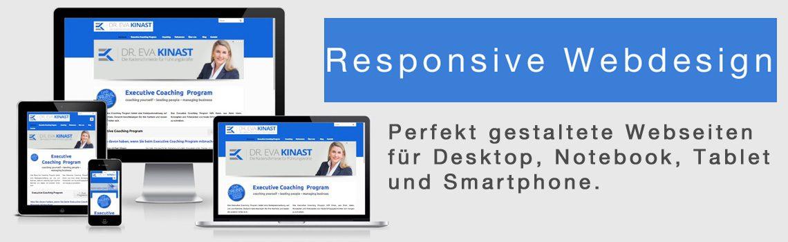 Responsive Webdesign: Gut sichtbar auf allen Plattformen