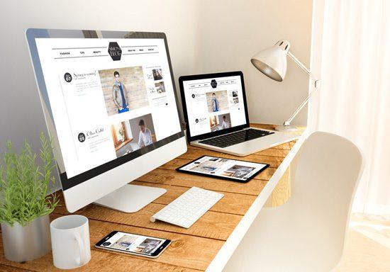 Eine Business Webseite im responsive Webdesign, die auf Desktop PC und auf mobilen Geräten eine sehr gute Figur machen.