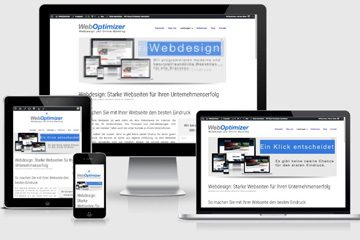 Responsive Webdesign für optimale Darstellung auf mobilen Geräten