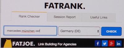 Neutrales Google Ranking mit Fat Rank